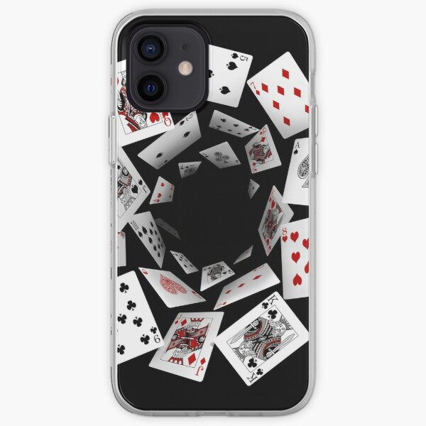 Falling Cards iPhone Soft Case