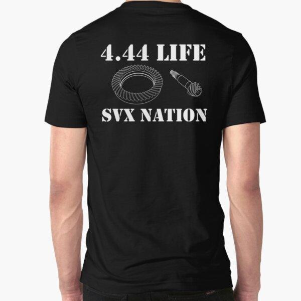4.44 Life White Slim Fit T-Shirt