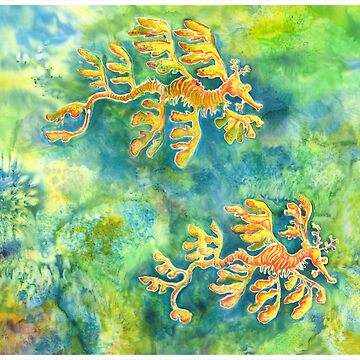 Leafy Sea Dragons by MiMiDesigns
