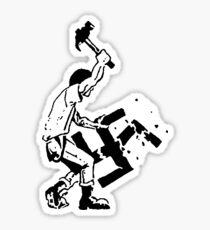 Smash Fascism - Anti-Nazi Sticker