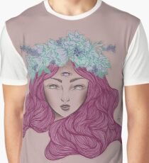 'Heather Hearted' - Digital illustration Graphic T-Shirt