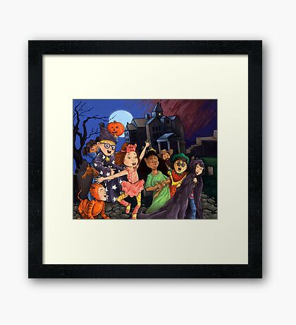 Check Your Candy for Razor Blades! Framed Print