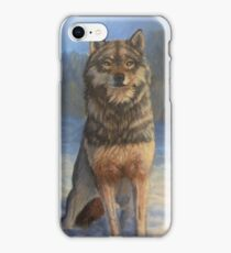 Timber Wolves in the Snow iPhone Case/Skin
