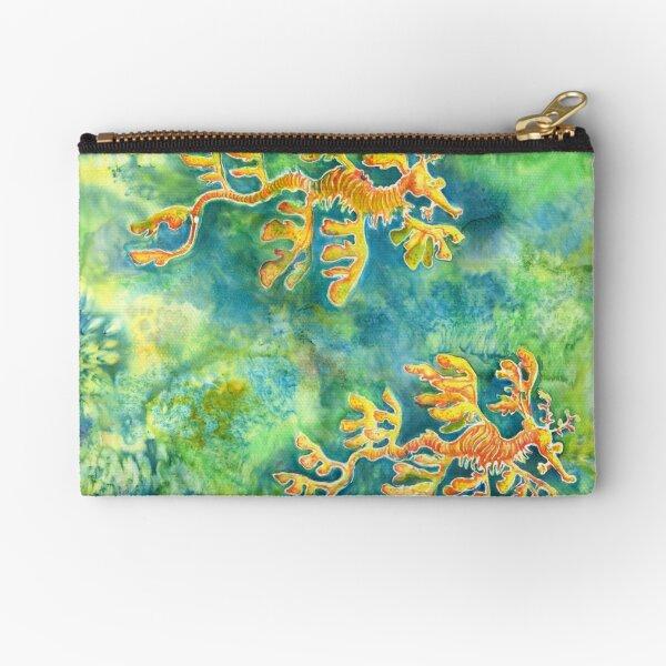 Leafy Sea Dragons Zipper Pouch