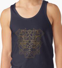 Camiseta de tirantes Dice Deco Gold