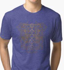 Dice Deco Gold Tri-blend T-Shirt