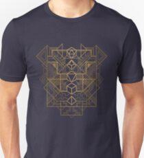 Dice Deco Gold Unisex T-Shirt