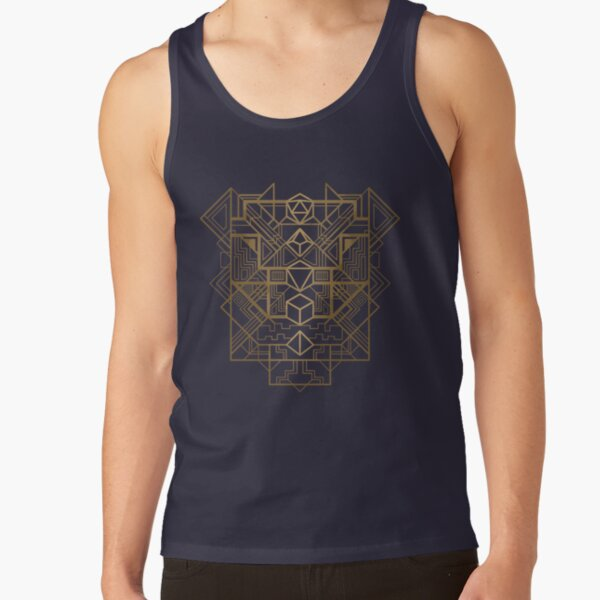 Dice Deco Gold Tank Top