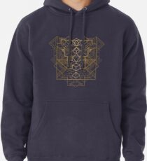 Dice Deco Gold Pullover Hoodie