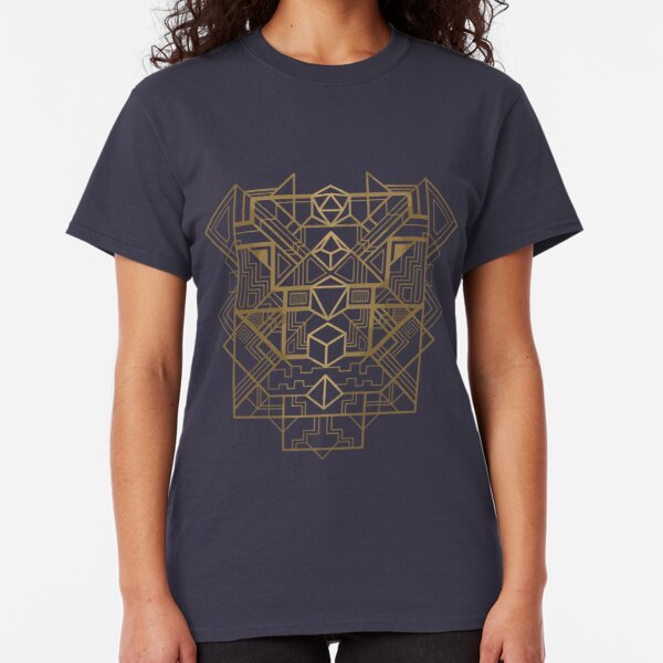 Dice Deco Gold Classic T-Shirt