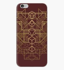 Dice Deco Gold iPhone Case