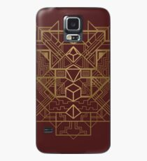 Dice Deco Gold Case/Skin for Samsung Galaxy