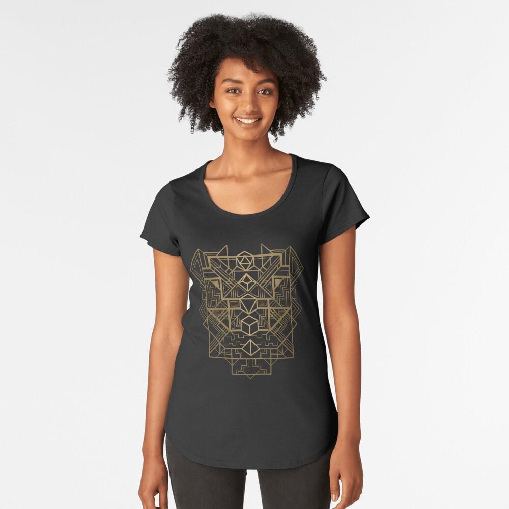 Dice Deco Gold Premium Scoop T-Shirt
