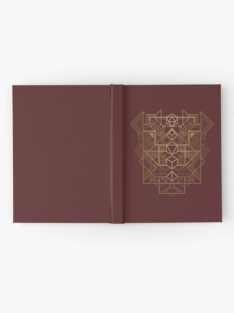 Alternate view of Dice Deco Gold Hardcover Journal