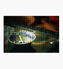 Ashtray Photographic Print
