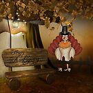 Happy Thanksgiving Pirgrim by Penny Odom