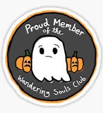 Wandering Souls Club Sticker