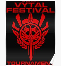 Vytal Festival Tournament - Red Poster