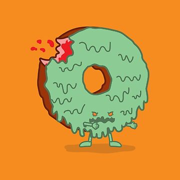 The Zombie Donut by nickv47