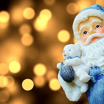 Blue Santa by James57025