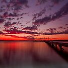 Soldiers Point Sunset 2 by Centralian Images
