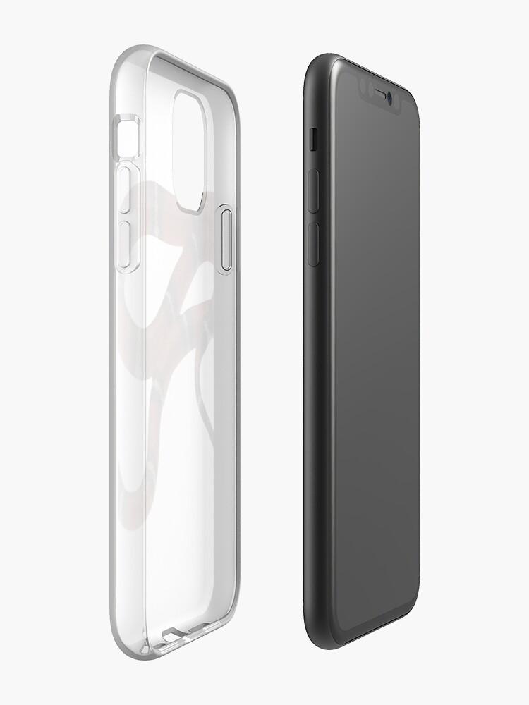 coque iphone x avec cordon , Coque iPhone «Serpent», par katiejaguar