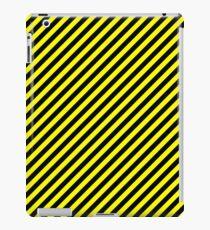 Patron amarillo y negro iPad Case/Skin