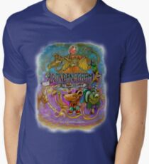 Yokai Creature Design  Men's V-Neck T-Shirt