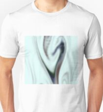 Psychedelic pale heart swirl T-Shirt