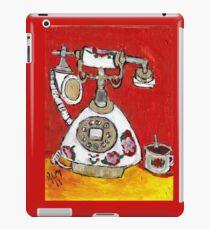 Telephone & Tea iPad Case/Skin