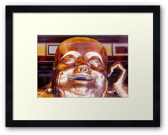 Shiny, Happy Buddha  by Ethna Gillespie