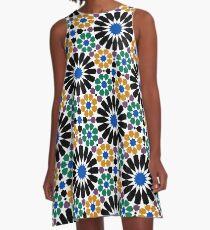 Patrón arabe A-Line Dress