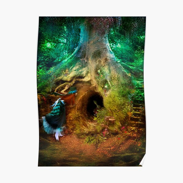 Down the Rabbit Hole Poster