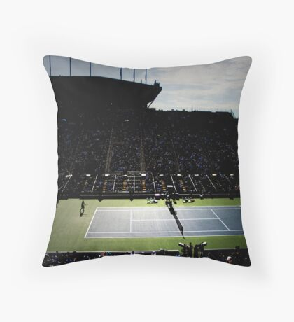 Louis Amstrong Stadium Throw Pillow