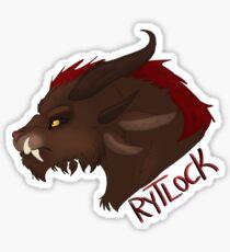 Rytlock GW2 Sticker