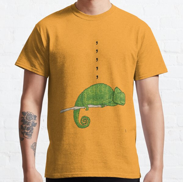 Comma, Comma, Comma Chameleon Classic T-Shirt