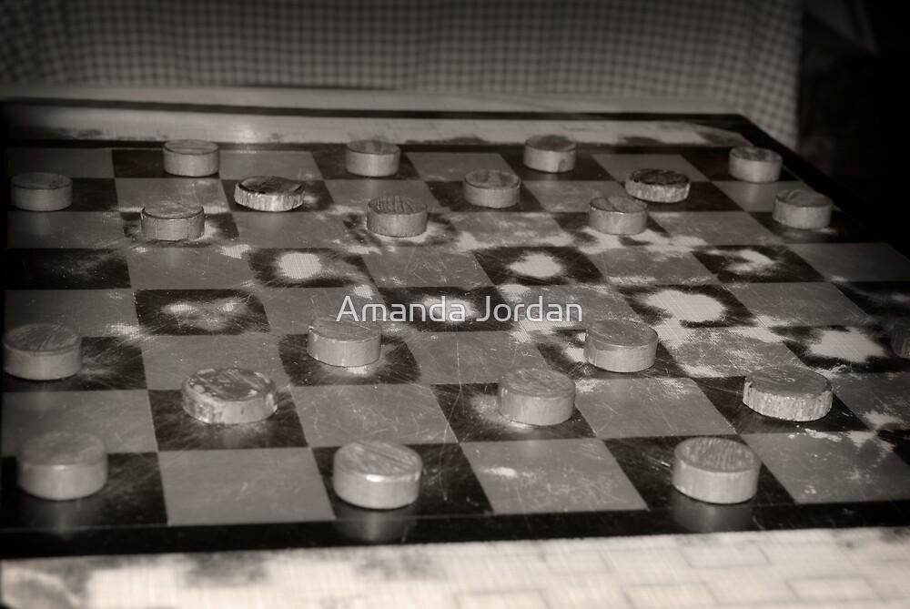 Checkers by Amanda Jordan