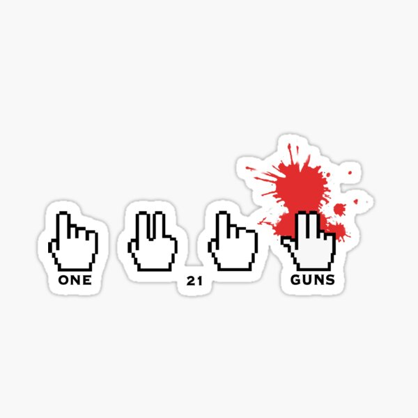21 guns - Green Day Sticker