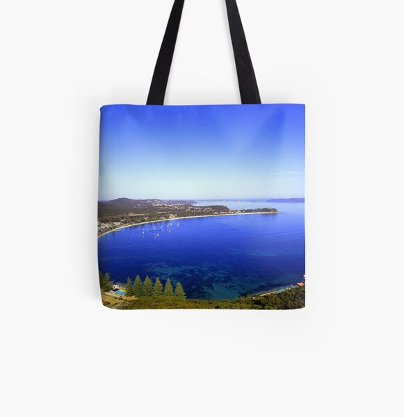 Shoal Bay, Port Stephens All Over Print Tote Bag