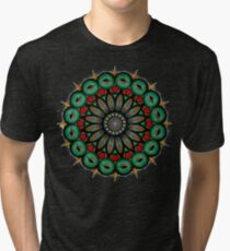 Zombie Mandala  Tri-blend T-Shirt