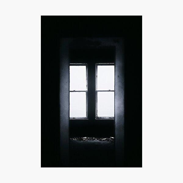 Dark Empty Room Photographic Print