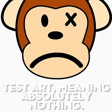 Monkey Test by shirtoutloud