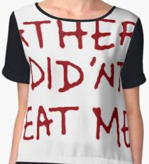 """Rick and Morty // """"My Father Didn't Eat Me"""" Cosplay Shirt S03E09 Women's Chiffon Top"""