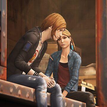 Chloe & Rachel Train (Alternate Angle) - Life is Strange by drmraymond