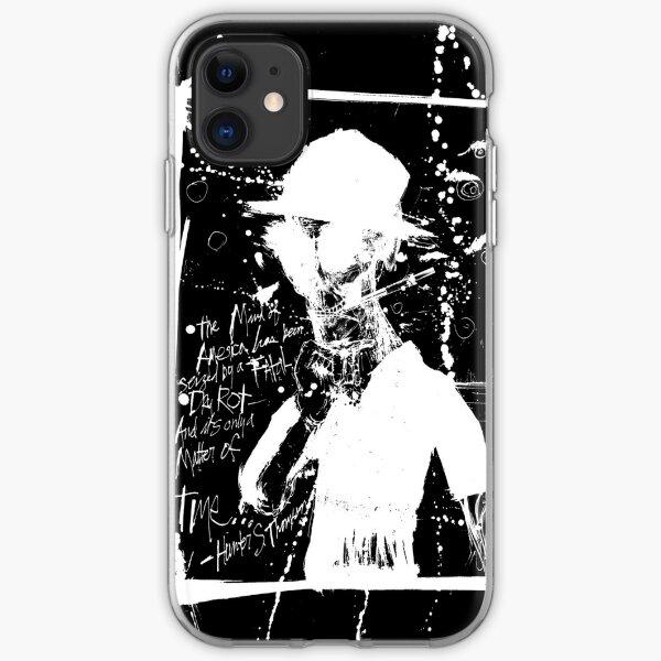 Hunter S. Thompson: America Dry Rot (Black) iPhone Soft Case