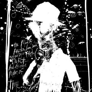 Hunter S. Thompson: America Dry Rot (Black) by HouseofDaze