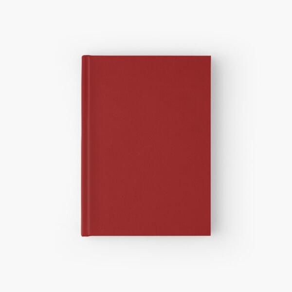 Dark Red Hardcover Journal