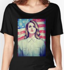 Influented famous woman lady US America USA Women's Relaxed Fit T-Shirt