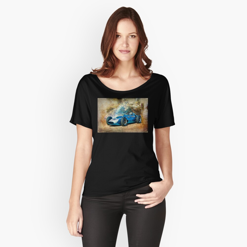 1960 Scarab F1 Car Relaxed Fit T-Shirt
