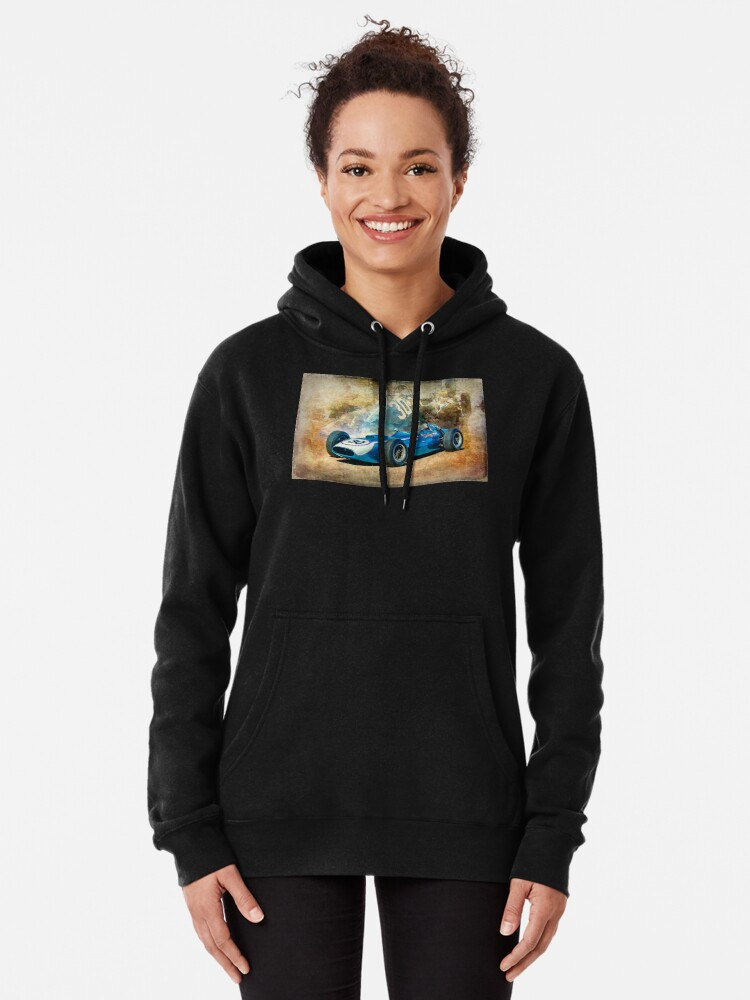 Alternate view of 1960 Scarab F1 Car Pullover Hoodie
